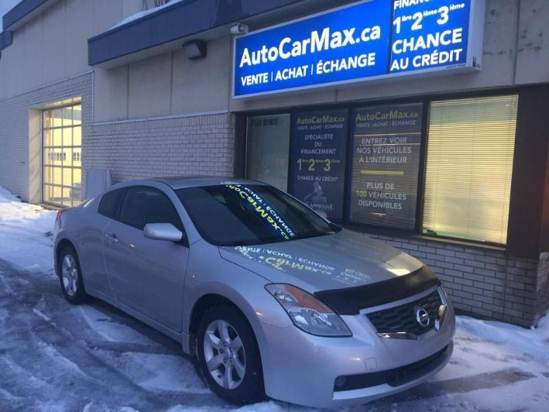 Used Nissan Altima 2,5 Coupe Cuir-Sunroof-Blutooth-Spécial !!! for