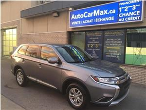 Mitsubishi Outlander AWC ES Blutooth Comme Neuf! LE MOIN CHER DU MARCHÉ 2016