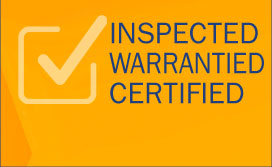 Inspected and warrantied trouble free used cars